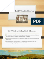 Resumen de Literatura Romana