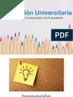 innovacion universitaria