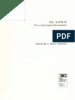 Braunstein Nestor - El Goce - Un Concepto Lacaniano (331p.)