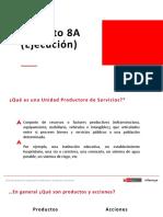 Definicion de Producto y Acciones