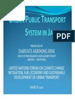 Urban Public Transfer in Jakarta