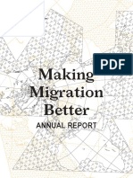 Making Migration Better ANNUAL REPORT 2018