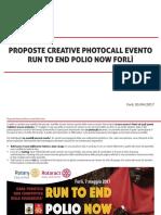 Presentazione Progetto Photocall - Run to End Polio