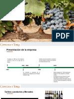"""Proyectos 2 """"Viña Concha y Toro"""".pptx"""