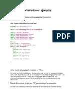 Informática en ejemplos 1