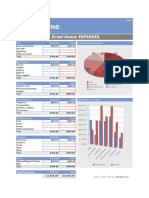 Microsoft Office Event Budget