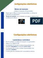 Q.geral P1 Aula c2 Niveis Subniveis Tabela Periodica