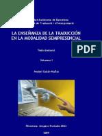 LA ENSEÑANZA DE LA TRADUCCION EN LA MODALIDAD SEMIPRESENCIAL.pdf