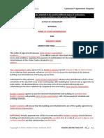 C3 1 Contractors Agreement Template