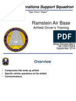 Airfield Drivers Training Powepoint Slides