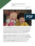 3 Décadas de Valores y Educación Ghibli