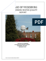 Vickburg 2018 Water Quality Report