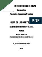 CONTROL MICROBIOLOGICO DE AGUAS