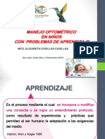 3.Manejo Optométrico de Problemas de Aprendizaje