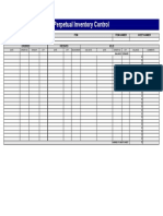 Microsoft Office Inventory Control Perpetual Inventory Control
