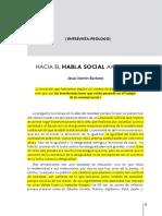 Barbero, Jesús Martín (2015) -El Habla Social Ampliada