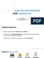 How to Reduce Cost of Quality With Industry 4.0 - Deck