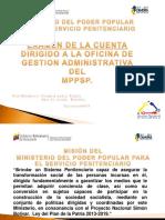 Taller Examen de La Cuenta Mppsp 2019
