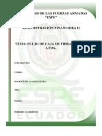 Informe Flujo de Caja Espe Financiera