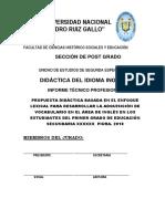 Modelo de Caratula Pedro Ruiz Gallo