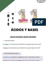 acidos y bases - quimica cbc