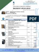 COTIZACION N° 00141 -2019 MUNI TAHUANIA (1)