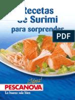 Pescanova Recetas de Surimi Para Sorprender