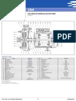 Ficha Tecnica de Partes y Piezas de Las Bombas CDA