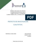 Investigacion Cualitativa. Autismo