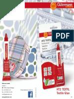 Brochure HT2 Textil En