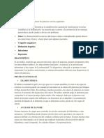 COMPLICACIONES Cancer de Pancreas
