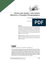 Sanchez (2014)- Tutoría Entre Iguales. Antecedentes Históricos y Principios Psicopedagógicos