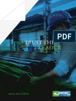 Jindal Pipes Brochure