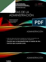 1. Teorias de La Administración