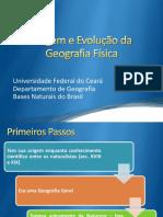 0 -Origem e Evolução Da Geografia Física