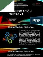 2. Administración Educativa