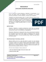 Disciplinary Procedure Guidelines