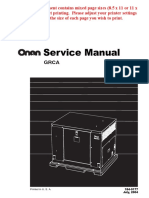 184-0177 Onan GRCA Genset Service Manual (07-2004)