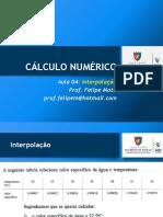Calc Num 04 Sld Interpolação