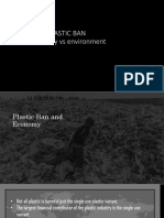Platsic Ban Economy vs Environment