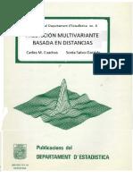 Metodos multivariantes basados en distancias
