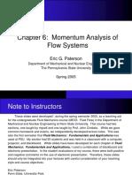 momentum analysis