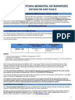 Processo Seletivo Médico ESF