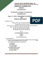 question paper model