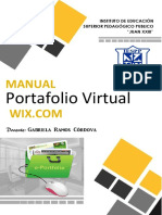 Manual de Portafolio Virtual -2019