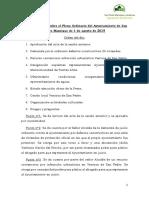nota informativa sobre el pleno ordinario del ayuntamiento de san pedro manrique de 1 de agosto de 2019