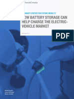How Battery Storage Can Help Charge the Electric Vehicle Market