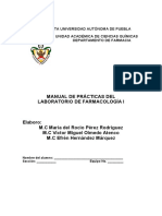 Manual de Laboratorio de Farmacologia