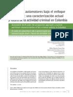 Revista Criminalidad 3 Edicion