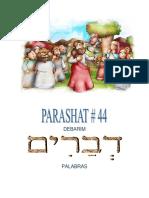 Parashat Debarím # 44 Inf 6019